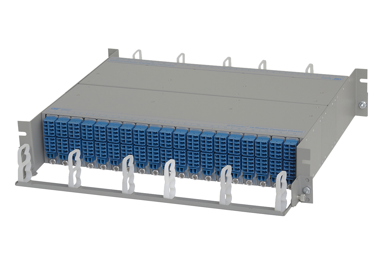 19 Module Compact Chassis