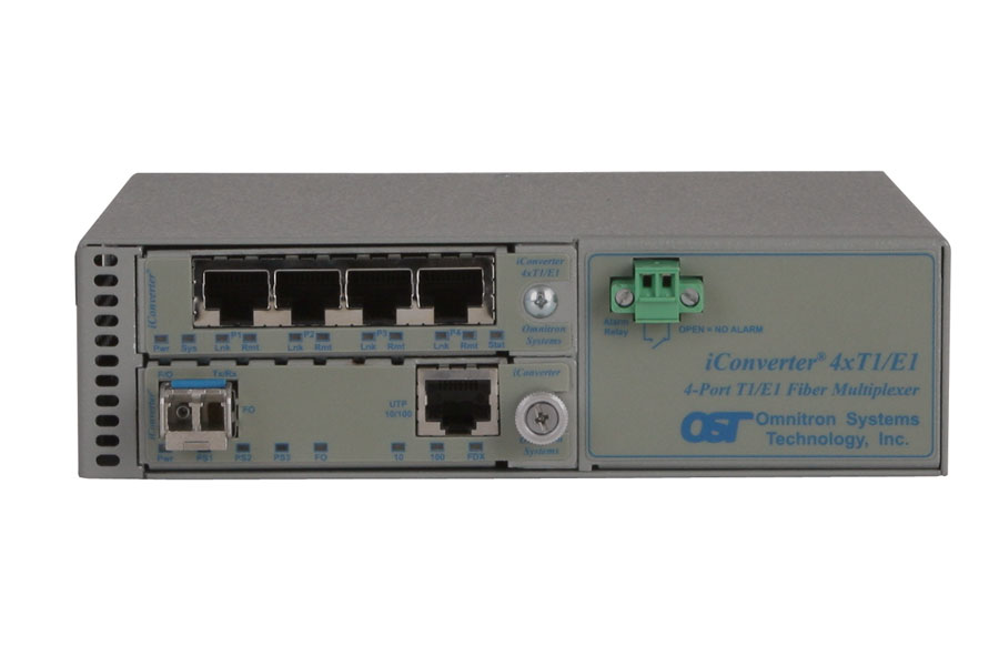 Unmanaged 4x T1 Multiplexer
