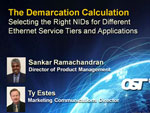 Webinar: The Demarcation Calculation