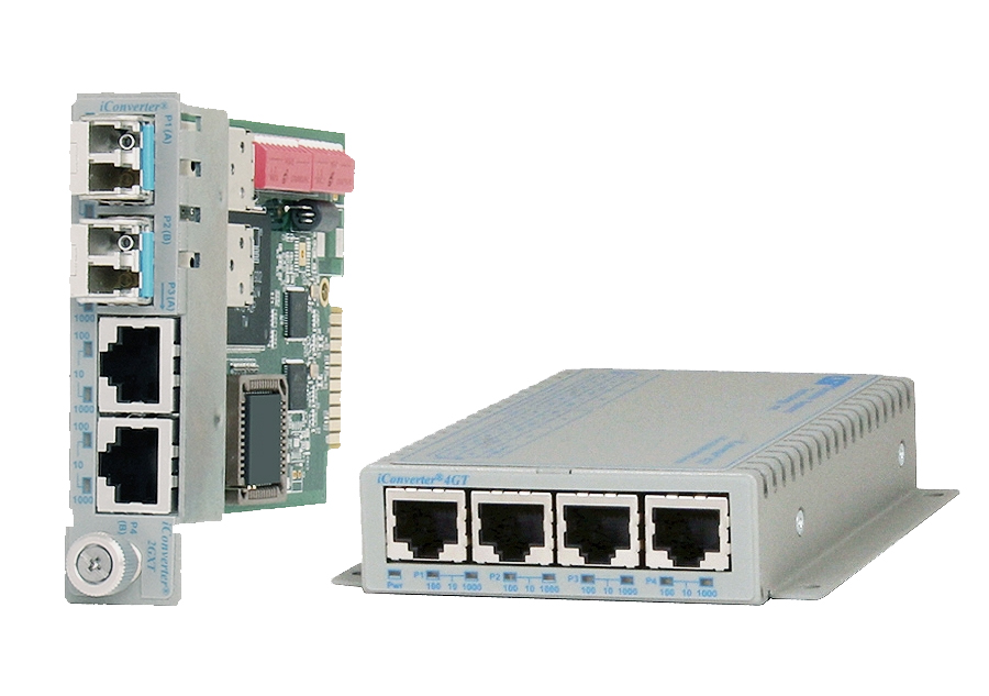 iConverter Modular Ethernet Switch