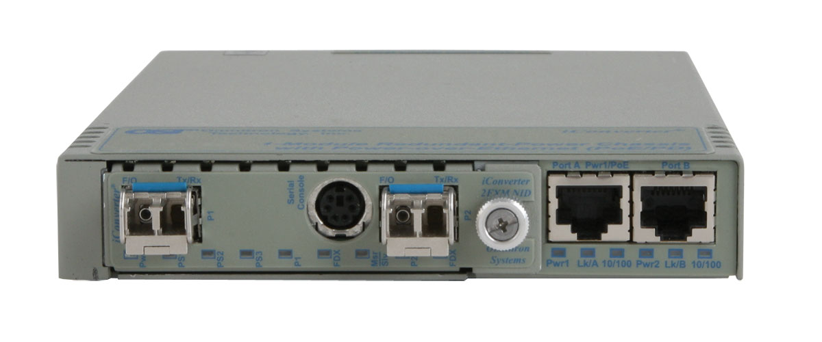 1 Module Redundant Power Chassis