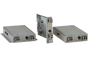 100Base-Fx Fiber to 100Base-Fx Fiber Media Converter Self-Managed