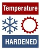 Temperature hardened