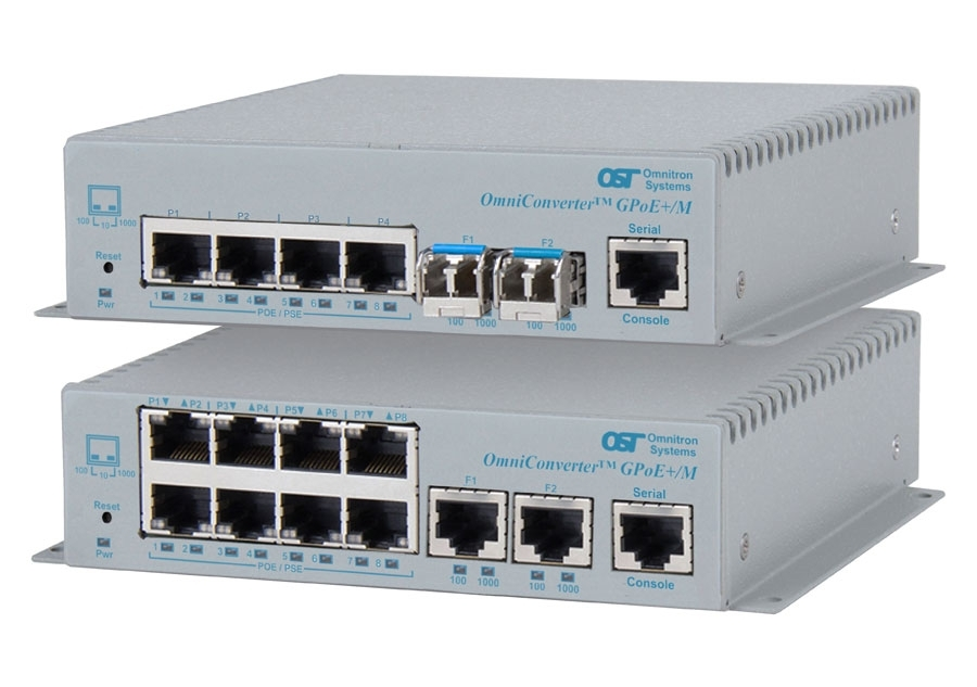 Power over Ethernet Switches