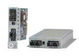 Ethernet Fiber to Fiber Media Converter | iConverter 100FF