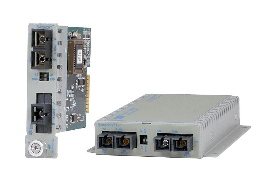 Gigabit Ethernet Fiber To Fiber Media Converter