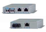 OmniConverter™ FPoE/SL,  FPoE/S and FPoE+/S Industrial Media Converter