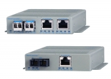 OmniConverter GPoE/S, GPoE+/S and GHPoE/S Industrial Media Converter