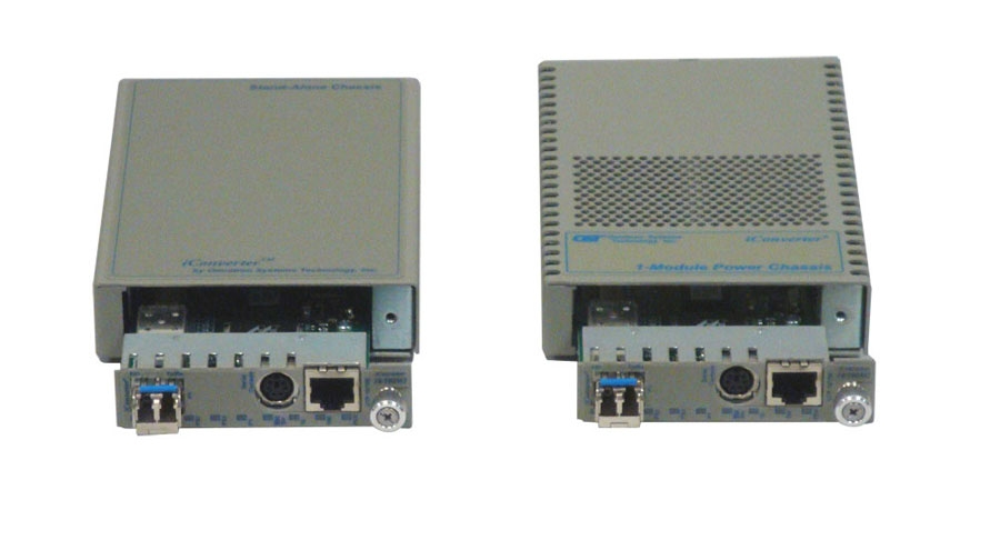 iConverter 1-Module Chassis